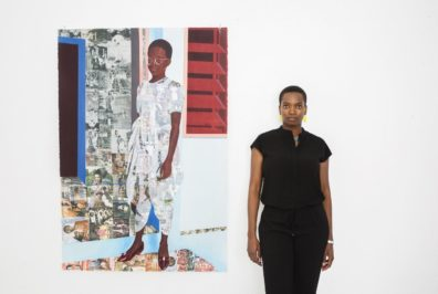 Njideka Akunyili Crosby Photograph: Brigitte Sire
