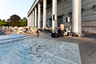 Terrasse, Goldene Bar, Haus der Kunst, 2012 Foto: Maximilian Geuter