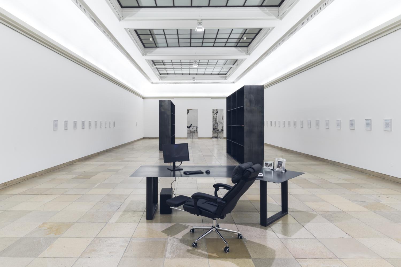 Sung Tieu, Installationsansicht, Zugzwang, 2020. Haus der Kunst, Foto: Maximilian Geuter