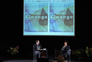 Eröffnung Kapwani Kiwanga. Plot, Haus der Kunst, Foto: Marion Vogel