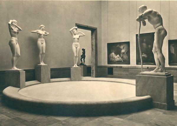 """""""Große Deutsche Kunstausstellung"""" 1941  ©Haus der Kunst, Historisches Archiv"""