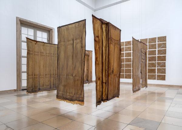 Heidi Bucher. Metamorphosen, Installation view, Haus der Kunst, 2021, Photo: Markus Tretter