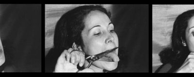 Anna Maria Maiolino, E' o que sobra (what is left over), 1974, from the series Fotopoemação (photo poem action), 1973-2017