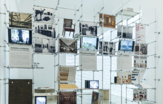 Archiv Galerie 2020/21: Archives in Residence – euward Archiv, Installation view Haus der Kunst, 2020, Photo: Maximilian Geuter