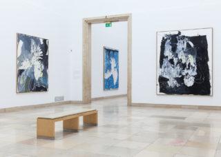 Georg Baselitz. Installationsansicht Haus der Kunst, 2014, Foto: Max Geuter