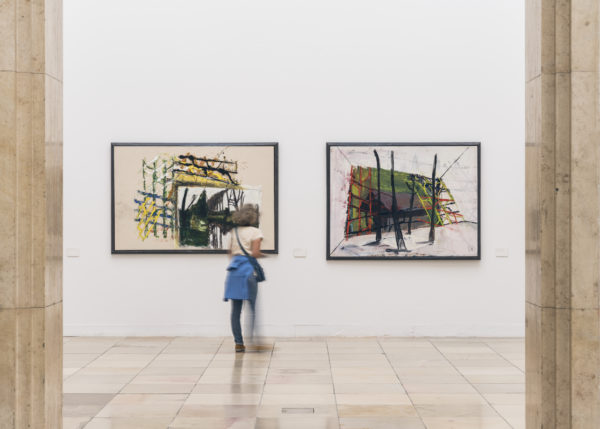 Markus Lüpertz. Über die Kunst zum Bild, Ausstellungsansicht, Haus der Kunst 2019, © VG Bild-Kunst, Bonn 2019, Foto: Maximilian Geuter