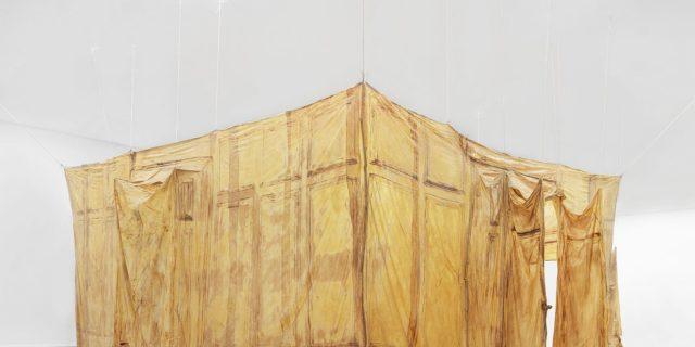 Heidi Bucher, Hautraum (Ricks Kinderzimmer, Lindgut Winterthur), 1987, Migros Museum für Gegenwartskunst, Photo: Stefan Altenburger Photography, Zurich