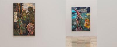 Michael Armitage. Paradise Edict © Michael Armitage, Installationsansicht, Haus der Kunst, 2020, Foto: Markus Tretter