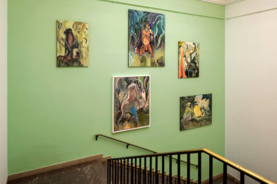 Michael Armitage. Paradise Edict, Installationsansicht, Haus der Kunst, 2020, Foto: Markus Tretter