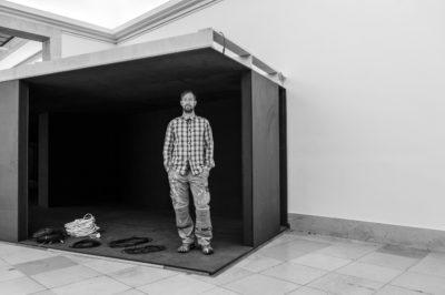 Tilo Schulz, Installationsansicht Haus der Kunst, 2014. Foto: Maximilian Geuter