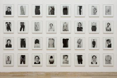 Michael Schmidt. Grau als Farbe. Fotografien bis 2009, Installationsansicht, Haus der Kunst, 2010, Foto Wilfried Petzi © Michael Schmidt, Courtesy Galerie Nordenhake