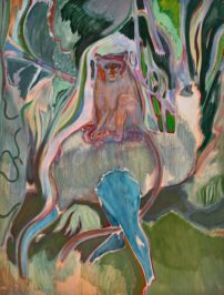 Michael Armitage, Sykes Monkey, 2015
