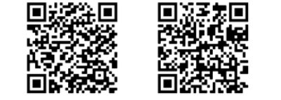 links: für Android, rechts für iOS
