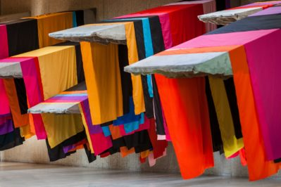 Phyllida Barlow, untitled: 11 awnings, 2013, Collection of the artist, London