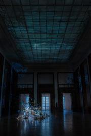 Sarah Sze, Centrifuge. Installationsansicht Haus der Kunst 2017