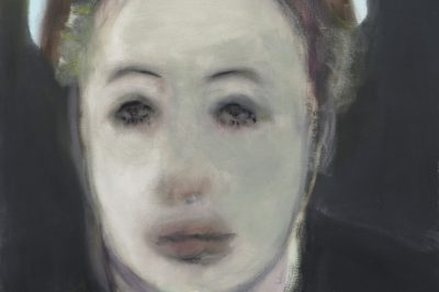 Marlene Dumas, Waterproof Mascara, 2008, oil on canvas, 100 x 90 cm private collection © Marlene Dumas