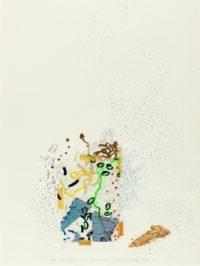 Michael Buthe, lebolo ondata que miracle reschenetürre la belle schenerupolo, 1970, Kunstmuseum Luzern, donation Jean-Christophe Ammann. photo: Andri Stadler, Luzern © VG Bild-Kunst, Bonn, 2015