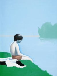 Wilhelm Sasnal, Bathers at Asnières 2010 © the Artist, Courtesy Sadie Coles HQ, London