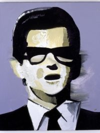 Wilhelm Sasnal, Roy Orbison 1, 2007, Private Collection