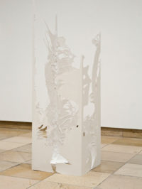 Kimberly Sexton, Column 4 (Still Projecting), 2011, Sculptural Acts, installation view, Haus der Kunst, 2011, photo Wilfried Petzi