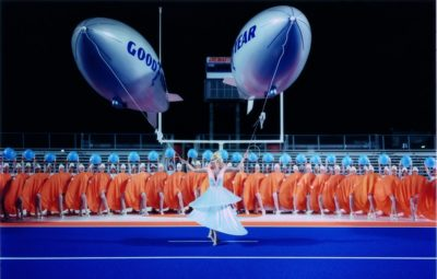 Matthew Barney, CREMASTER 1 (Filmstandbild), 1995/96, 1-Kanal-Videoinstallation (Farbe, Ton). Courtesy Sammlung Goetz, München.