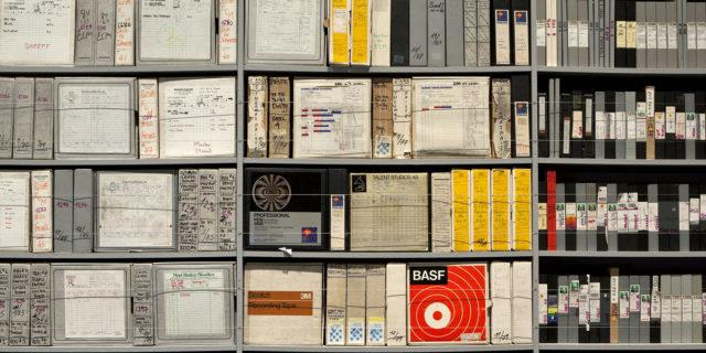 ECM – Eine kulturelle Archäologie Installationsansicht Foto: Wilfried Petzi, 2012