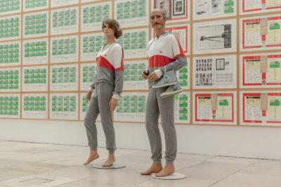 Hanne Darboven Kulturgeschichte 1880 — 1983, 1980 — 1983; Installationsansicht/ Installation view Haus der Kunst  © Hanne Darboven Stiftung, Hamburg / VG Bild-Kunst, Bonn 2015 Foto: Maximilian Geuter
