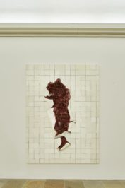 Adriana Varejão, Azulejara Branca em Carne Viva, 2002. Exhibition view, Interiorities (2020), Haus der Kunst, Connolly Weber Photography