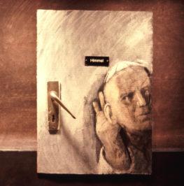 Jochen Kuhn, DIE BEICHTE, 1990, 1-Kanal-35-mm-Film (Farbe, Ton) Courtesy Sammlung Goetz, München