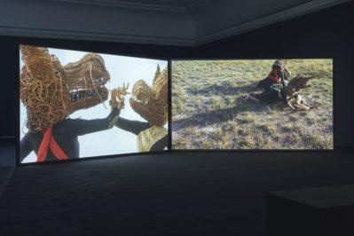 Khvay Samnang, Popil, two-channel video, detail, 2018. Capsule 10, Haus der Kunst
