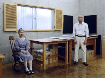 Kyoko und Tomoharu Murakami, Tokio, 1991 Chromogenic print 105,5 x 126,0 cm © Thomas Struth