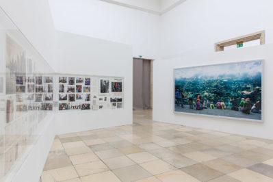 Thomas Struth, Figure Ground Haus der Kunst 2017 Installationsansicht Foto: Maximilian Geuter